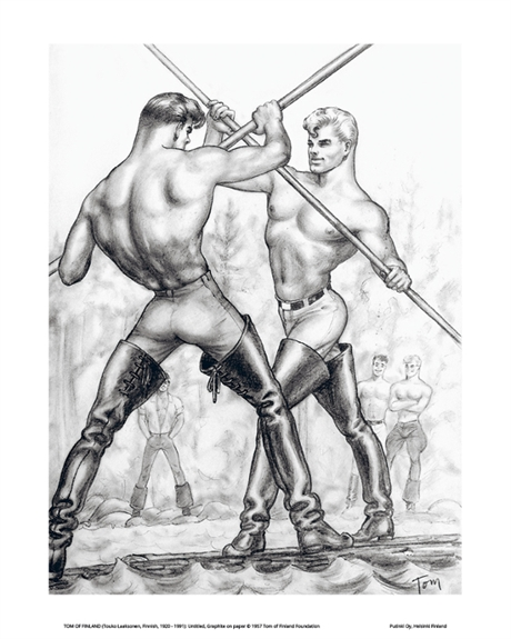 Tom of Finland: Mini Print#10