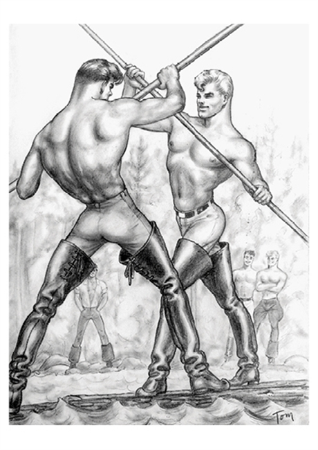 Tom of Finland:Postcard#03