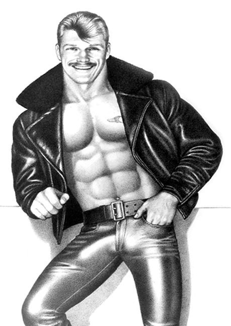 Tom of Finland:Postcard#16