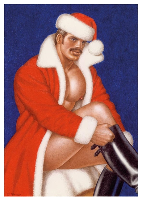 Tom of Finland:Postcard#27 X-mas
