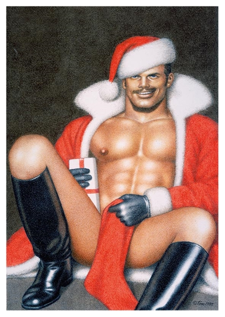 Tom of Finland: X-mas Greeting Card with envelope #2