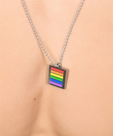 Andrew Christian: Pride Boundary Rainbow Necklace