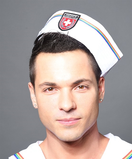 Andrew Christian: Pride Sailor Hat