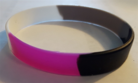 Asexual Silicone Bracelet
