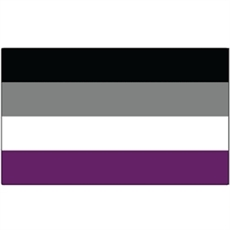 Asexual Flag Sticker