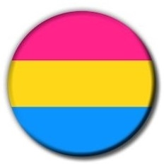 Button 55mm: Pansexual Pride