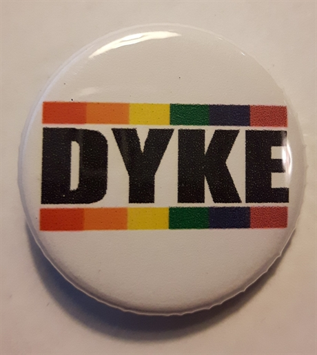 Button 32mm: DYKE