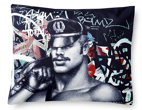 Tom of Finland: Back Alley Pillowcase 50 x 60 cm