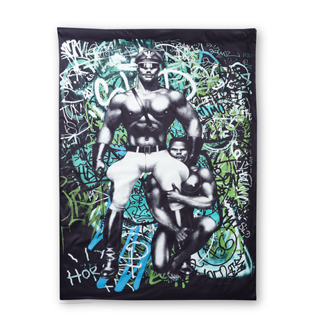 Tom of Finland: Back Street Satin duvet cover 150 x 210 cm