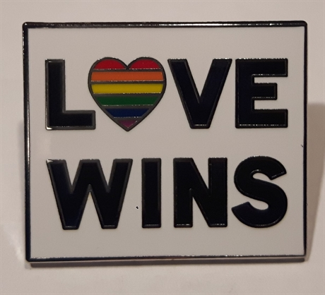 Pin: Love Wins