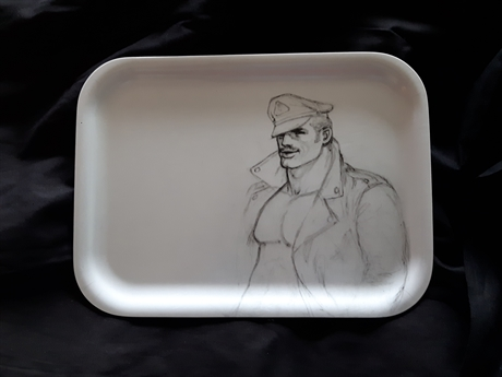 Tom of Finland: Biker Tray black
