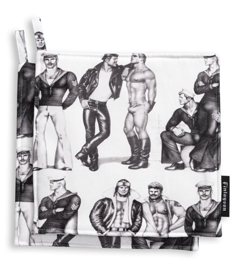 Tom of Finland:  Pot Holder Set