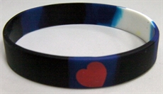 Leather Silicone Bracelet