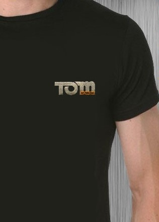 Tom of Finland: Tom's Logo Embroidered T-shirt