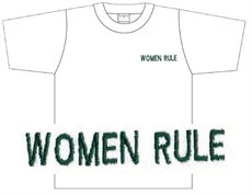 T-shirt: Women Rule