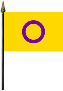 Intersex Pride smal flag